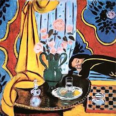 """""""Harmony in Yellow"""" by Henri Matisse (1928)"""